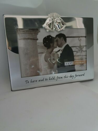 Silver plated photo frames 6x4