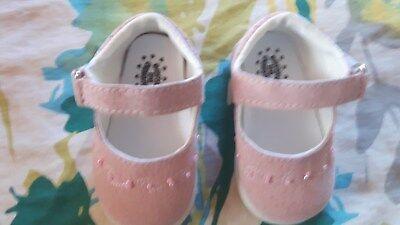 100% QualitäT Babyschuhe Für Kleine Prinzessinen Gr.16 In Rosa Aromatischer Geschmack
