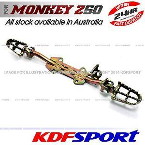 KDF-FOOTREST-PEGS-FOOT-FOOTPEG-PEG-BRACKET-DIRT-FOR-STAND-MONKEY-Z50-Z50J-Z50R