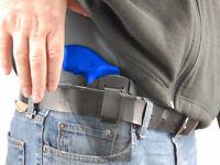Barsony Black Leather Iwb Gun Holster Charter Arms 2 Snub Nose Revolvers