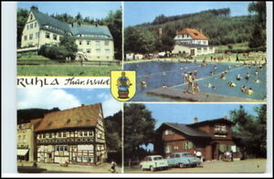 RUHLA-Thueringen-DDR-AK-ua-Kinderheim-Kaetze-Kollwitz