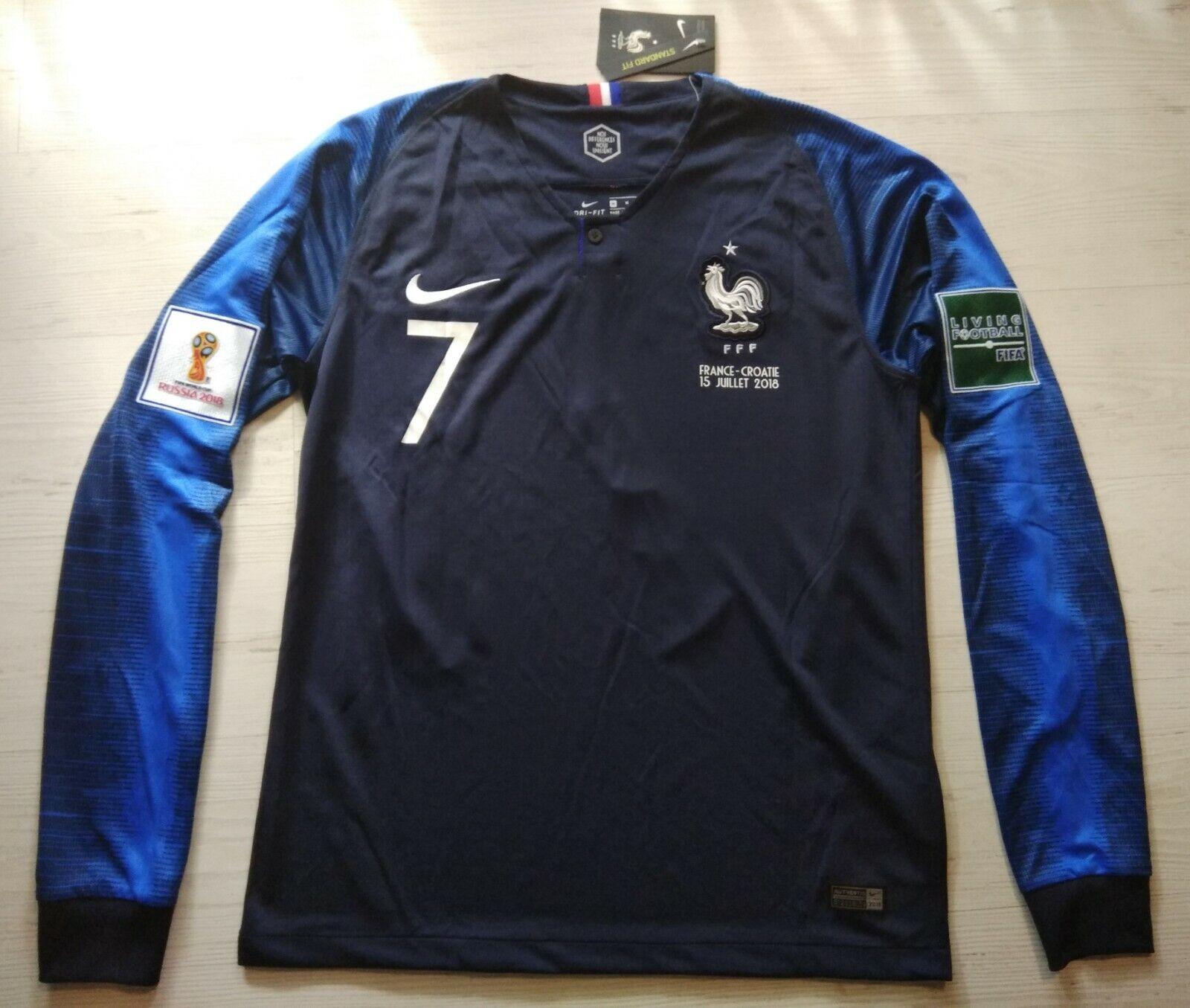 Camiseta Francia final mundial 2018 Griezmann