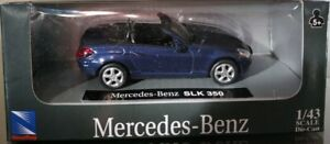 1-43-MERCEDES-SLK-NEW-RAY-A-ESCALA-COCHE-METAL-SCALE-CAR-DIECAST