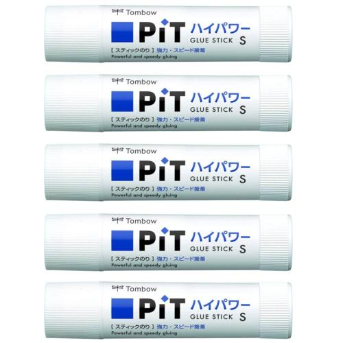 TOMBOW Glue Stick HCA-511 Pit High Power S 5 pack F//S Japan