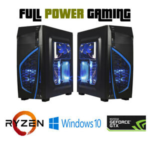 Details about Build your Own Custom Built Gaming AMD new Ryzen 3200g GTX  2060 1TB SSD 16GB RAM