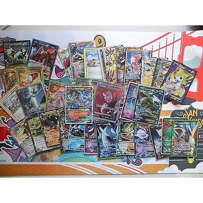 100 gemischte Pokemon Karten, 100% eine EX/Full Art/Primus/Turbo/Lv X, deutsch