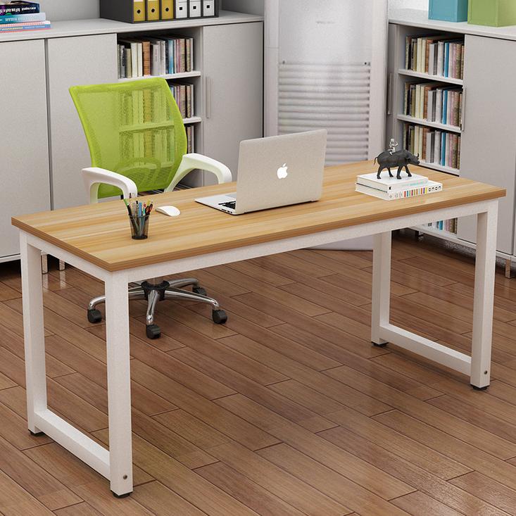Home Office Computer Desk PC Laptop Table Metal Leg Workstation Study Furniture