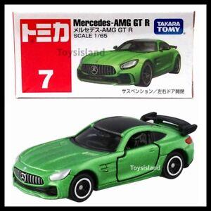 Diecast Toy Car Japan Takara Tomy TOMICA No.007 Mercedes Benz AMG GT-R GREEN