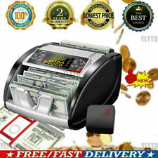 New Listingmoney Bill Currency Counter Counting Machine Counterfeit Detector Uv Mg Cash W