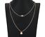 Kette-Halskette-doppelt-gold-silber-Vogel-Style-Blogger-Business-Casual-Damen Indexbild 3