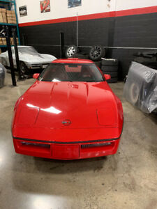 1990 Rare Red On Red King Of The Hill ZR1 Corvette