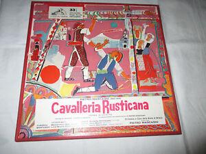 CAVALLERIA RUSTICANA - ORCHESTRA  SCALA DIRETTA DA MASCAGNI - 2LP BOX