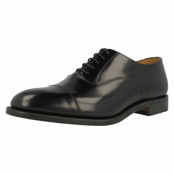 100% De Calidad Zapatos De Cuero Puntera Redondeada Para Hombre Formal Ajuste Estrecho Loake Con Cordones Tacón Alto 747b-ver