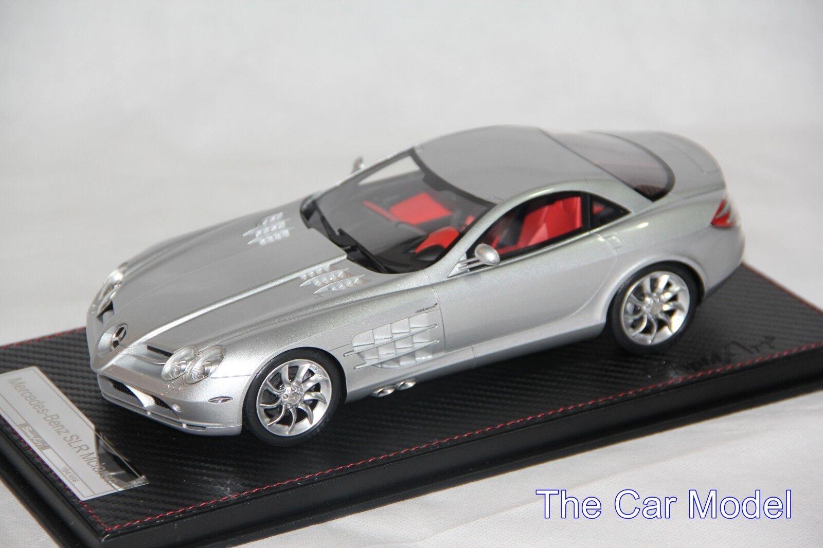 Mercedes Benz SLR Argent, Limité 498 Pièces Frontiart Sophiart 1 18
