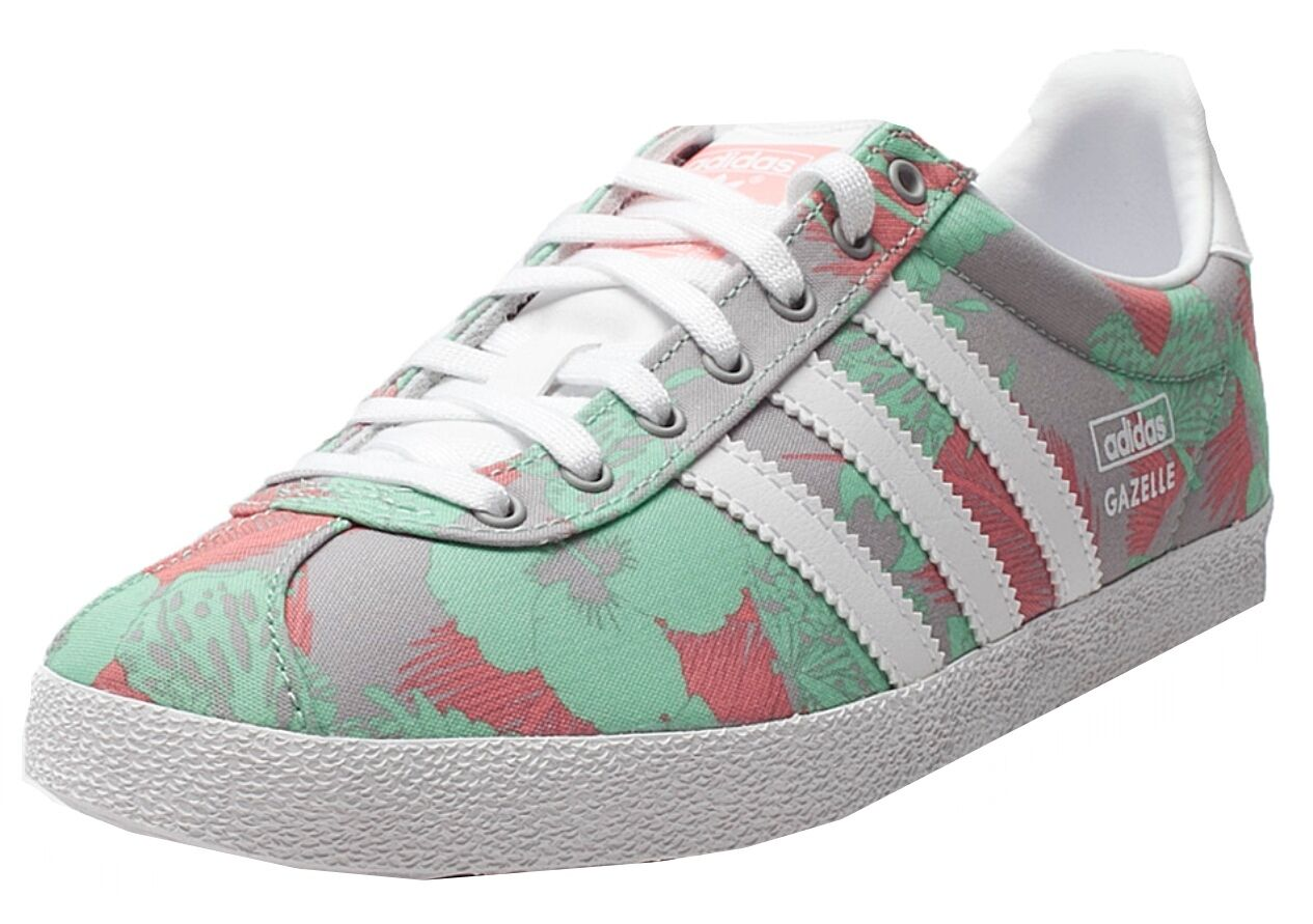Adidas Gazelle OG damen Trainer M19562 Multi Floral UK 3.5-7.5 DEADSTOCK RARE