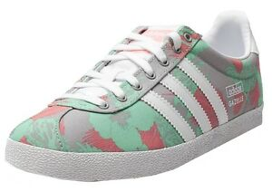 Image is loading Adidas-Gazelle-OG-Womens-Trainer-M19562-Multi-Floral-