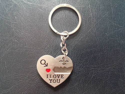 Key to my Heart key ring Set for him and her birthday I love you valentine