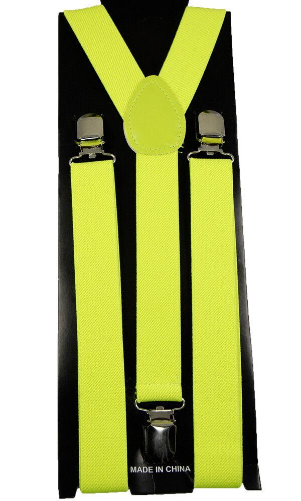 Unisex Clip-on Braces Elastic Suspender
