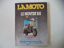 LA MOTO 12/1987 YAMAHA XV 1000 VIRAGO/KAWASAKI VN 750/SUZUKI VS 750 GL INTRUDER