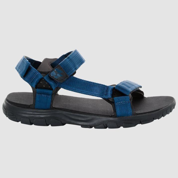 Schuhe Sandalen Trekking Jack WOLFSKIN seven SEAS 2 Sandale m Poseidon blau