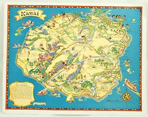 Details about Island of Kauai Hawaii Travel Vintage Illustrated Cartograph on map of glasgow, map of johannesburg, map of cedar rapids, map of miami, map of madrid, map of lansing, map of norfolk, map of new york, map of salt lake city, map of kona, map of lanai city, map of porto, map of florence, map of kahului, map of ontario, map of hilo, map of honolulu, map of singapore, map of hawaiian islands, map of cancun,