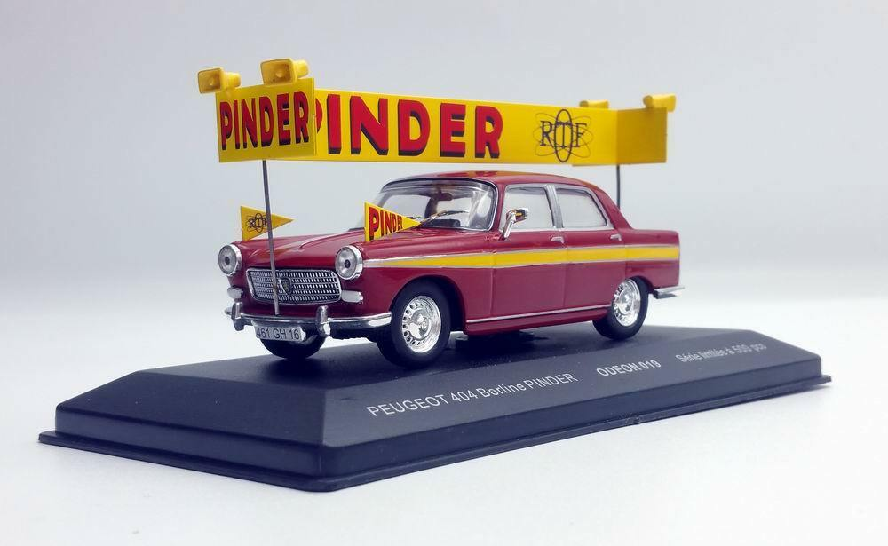 PEUGEOT 404 Circus PINDER ORTF Voiture de Collection 1 43 Limited Series 500 Ex