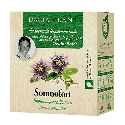 Passiflora (60 comprimate), Dacia Plant - daisysara.ro - Magazin Online