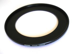 105 MM filtro adaptador Step-up adaptador filtro adaptador step up 77-105 77 mm