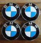 4 BMW Embleme Nabenkappen Nabendeckel Felgendeckel alle BMW Modelle ORIGINAL NEU