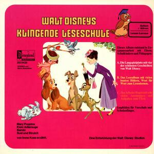 Irene-Koss-Walt-Disneys-Klingende-Leseschule-Vinyl-LP-EU-Original