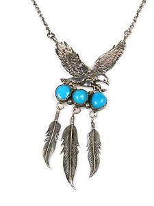 Details zu Halskette Collier Navajo Indianerschmuck