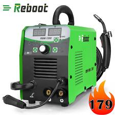 Mig Welder Flux Core 220v 130a Gas Gasless Inverter Mig Stick Lift Tig Welding