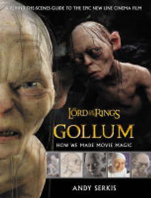 1 of 1 - The Lord of the Rings: Gollum - How We Made Movie Magic, Andy Serkis, Very Good