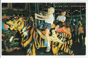 KENNYWOOD-PARK-HOLD-THAT-TIGER-KENNYWOOD-039-S-MERRY-GO-ROUND-CAROUSEL-PITTSBURGH-PA