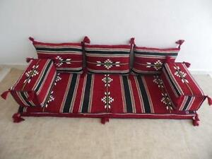 Image Is Loading ARABIC ARTUQID SEATING COVER SET Oriental Floor Seating