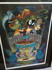 MARVIN THE MARTIAN in the 3RD DIMENSION Limited Ed Movie Poster 333/500 Signed