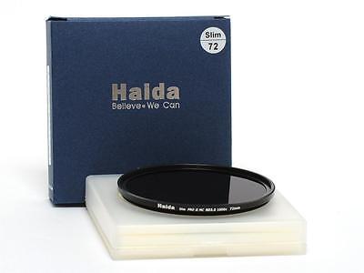 Haida Slim 72mm PRO II MC ND3.0 1000x (10 Stops) Neutral Density Filter