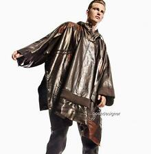 Maison Martin Margiela Runway Leather Cape Coat, rrp3500GBP