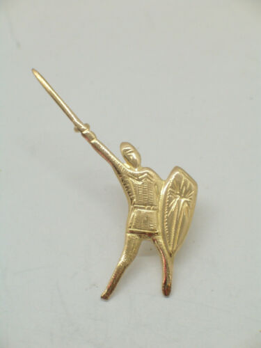 Legnano pins in Oro Giallo 750-18 Kt Alberto Da Giussano: Spilla da giacca