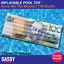 $100 Dollar Bill AUS Inflatable Pool Float GIANT Money Jumbo Blow Up Pool Toy