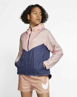 NWT Nike Sportswear Windrunner WOMEN'S JACKET SIZE SMALL BV3939 682 PINK   eBay