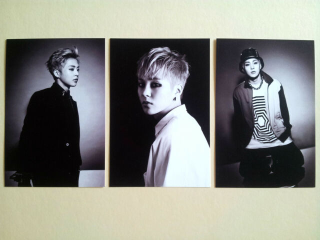 EXO Overdose Official Goods Post Card Postcard set -  Xiumin