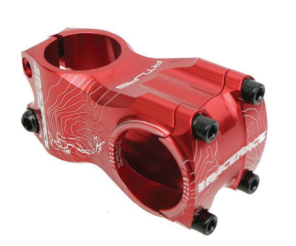 Race Face Atlas MTB Mountain Bike Bicycle Stem Red - 0 Degree x 31.8 x 50mm