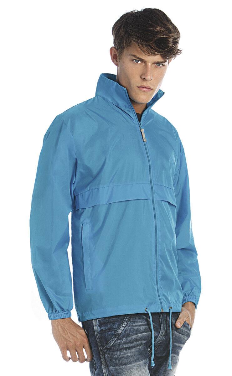 Manteau imperméable coupe-vent imperméable coupe-vent Sirocco pour hommes B & amp; BA601 S-3XL