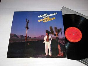 SADAO-WATANABE-Orange-Express-COLUMBIA-Stereo-VG-NM