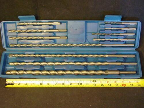 LONG SDS Masonary Concrete Rotary Hammer Drill Bits Fit Hilti Milwaukee /& Bosch