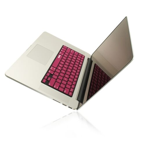 """R PINK Silicone Keyboard Cover fr NEW Macbook Pro 15/"""" A1398  with Retina display"""