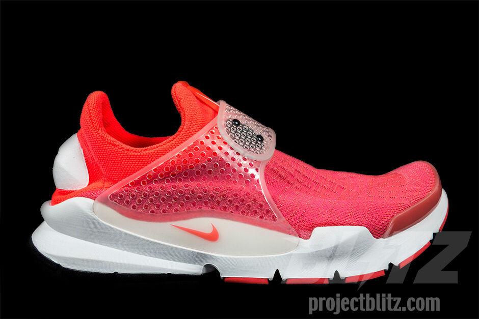 Nike sock dardo sp infrarossi confezioni 1112 rosso bianco 686058-661 vertice
