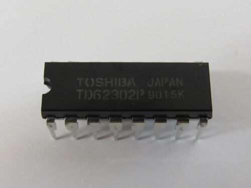 Td62302p-toshiba dip16-7ch low saturation sink Driver