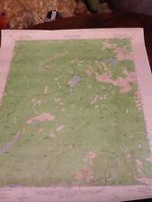 1956 DEPT OF INTERIOR TOPO MAP LOT 26 Silver Lake, Calif.  Twin Lake Reservoir